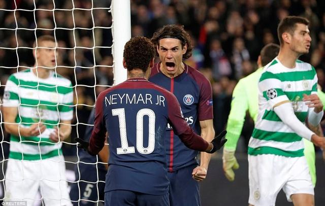 PSG vùi dập Celtic với tỷ số 7-1