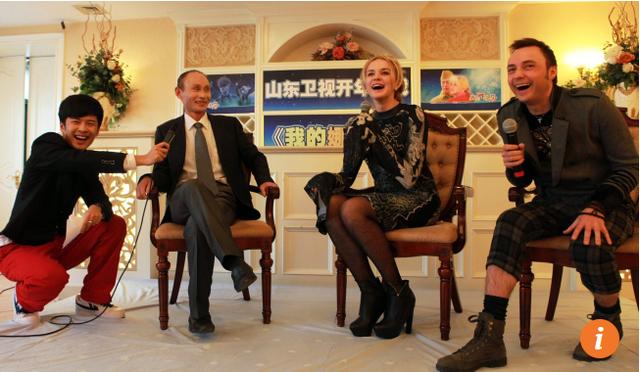 Ông Luo từng làm mưa, làm gió trên truyền thông vì ngoại hình giống Putin. (Ảnh: SCMP)