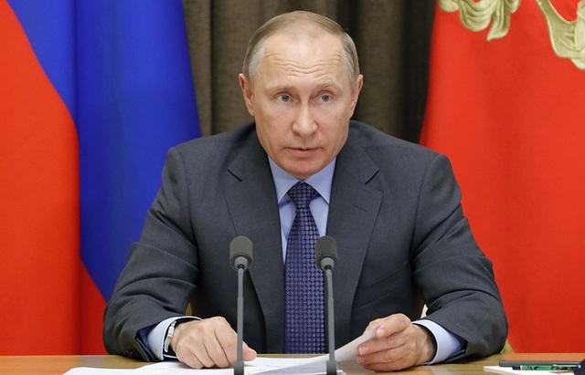 Tổng thống Nga Vladimir Putin (Ảnh: TASS)