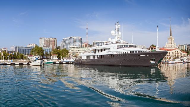 Du thuyền Chaika của Tổng thống Nga (Ảnh: Legion Media)