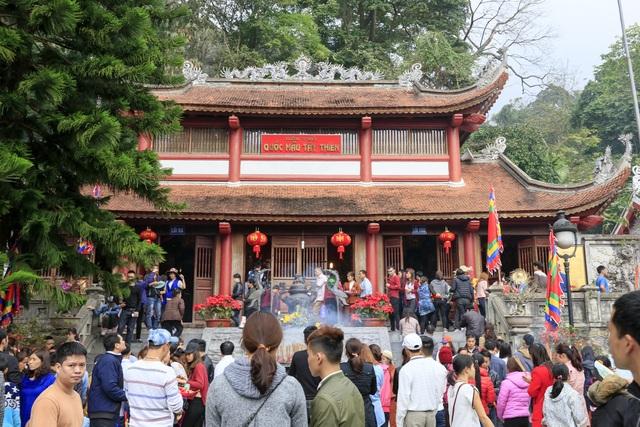 Tây Thiên đón hơn 40 vạn lượt khách chiêm bái đầu Xuân Đinh Dậu - 5