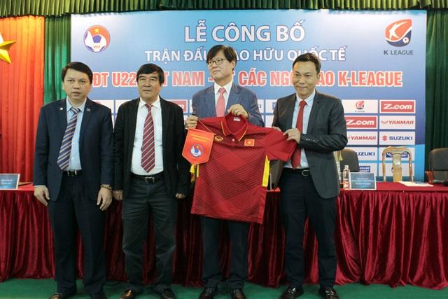 U22 Việt Nam sẽ có trận giao hữu với đội các ngôi sao giải Hàn Quốc - Ảnh: Gia Hưng