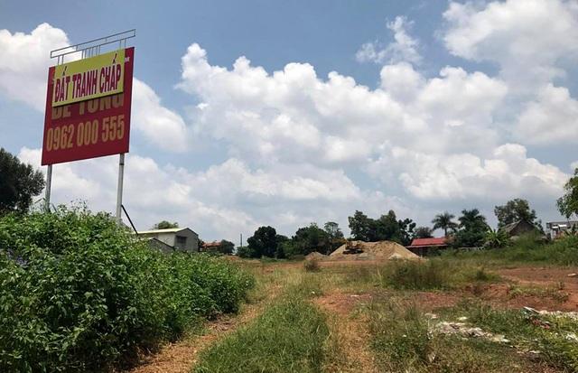 Khu đất Trường tiểu học Tân Đồng rộng hơn 10.000m2 tại thị xã Đồng Xoài được ông Hà cam kết sẽ giao sổ đỏ cho bà Loan nhưng sau đó lại bán cho người khác.