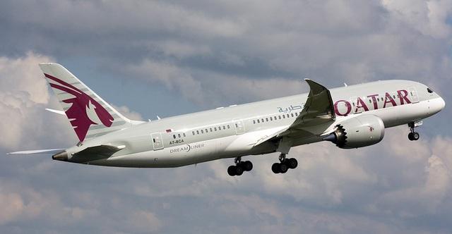 Một máy bay của Qatar (Ảnh: Qatar Airways)