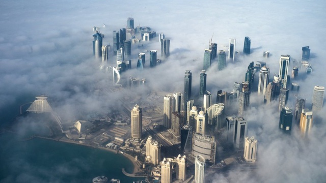 Thủ đô Doha của Qatar (Ảnh: EPA)