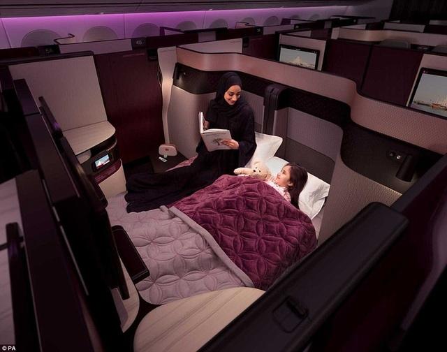 Dịch vụ phòng đôi mới khai trương tại khoang thương gia trên Boeing 777