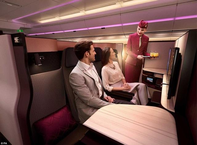 Hãng hàng không đầu tiên trên thế giới phục vụ giường đôi - 3