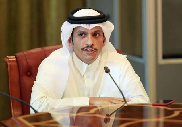 Ngoại trưởng Qatar Sheikh Mohammed bin Abdulrahman al-Thani. (Ảnh: Reuters)