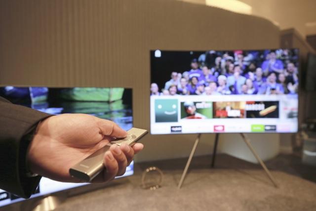 QLED TV là sản phẩm chủ lực của Samsung trong năm 2017.