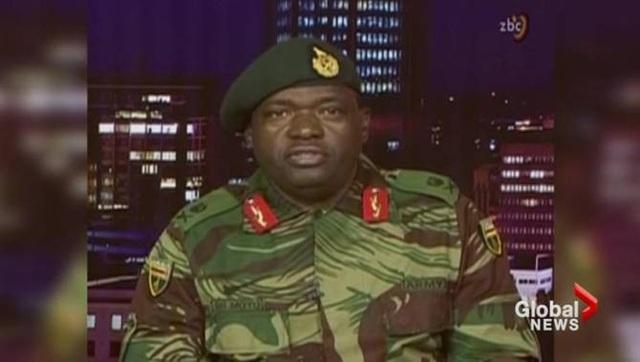 Quân đội Zimbabwe khẳng định không đảo chính. (Ảnh: Global News)
