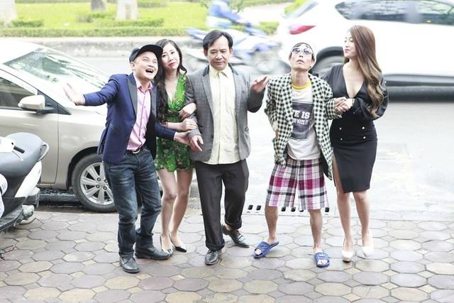 Quang tèo trong phim hài Tết Xin kiếp sau vẫn là anh em.