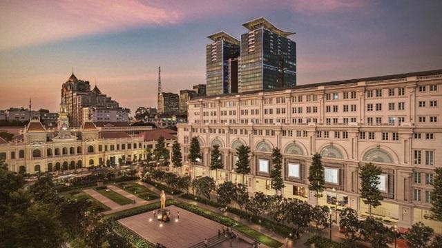 Quảng trường Nguyễn Huệ - một trong những biểu tượng của Sài Gòn