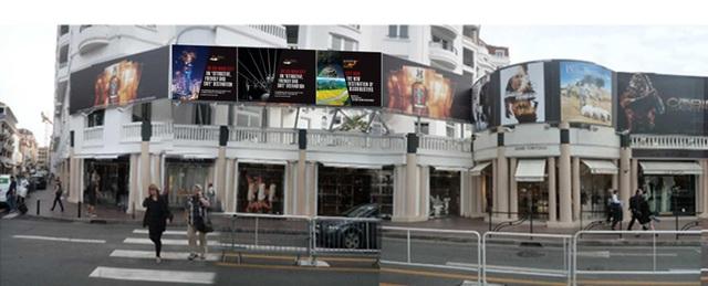 Vị trí 3 bảng quảng cáo ngoài trời sẽ được đặt để quảng bá cho Việt Nam tại Liên hoan phim Cannes