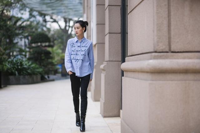 Quỳnh Chi hiện tại, tự tin bước đi trên đôi chân của chính mình và có một tình yêu mang đến cho cô sự bình an.