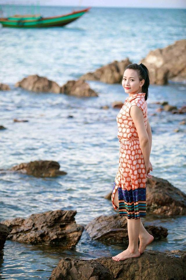 Hồi tưởng lại chặng đường đã qua, Quỳnh Trang không cảm thấy nuối tiếc điều gì, và điều hài lòng nhất với cô, là có được cho riêng mình một tổ ấm…
