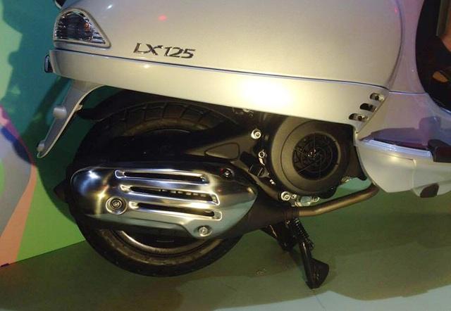 Piaggio ra mắt Vespa iGet LX 125 - 3