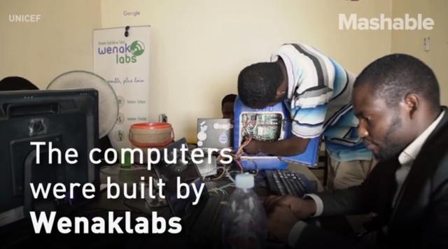 Toàn bộ máy tính đều được lắp ráp tại cơ sở Wenaklabs với mục đích mang đến tương lai cho những trẻ em ở những vùng nghèo khó.