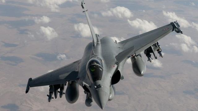 Tiêm kích Rafale của Pháp (Ảnh: AFP)