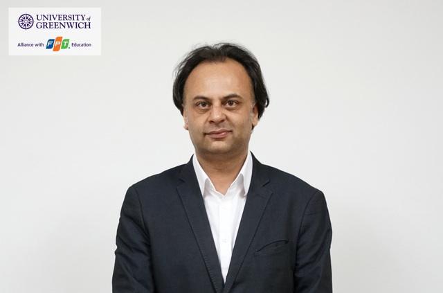 Ông Raj Dass - Trưởng ban hợp tác quốc tế Khu vực Châu Á, Thái Bình Dương - Đại học Greenwich Vương quốc Anh.