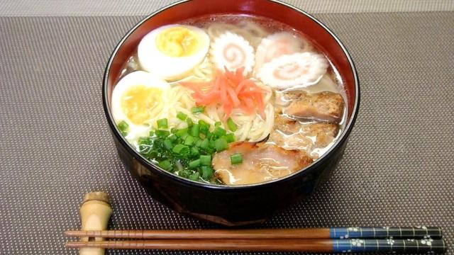 Món mỳ ramen trứ danh của người Nhật