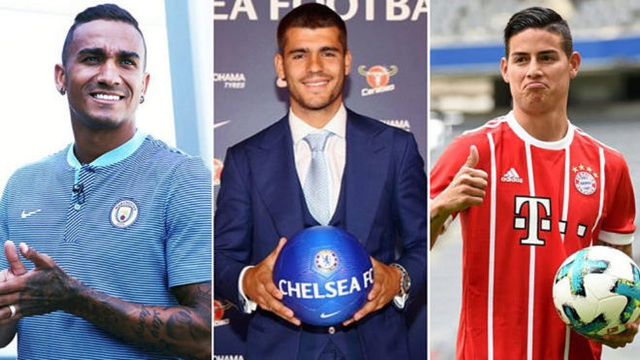 Real Madrid thu về 130 triệu euro từ việc bán các cầu thủ dự bị
