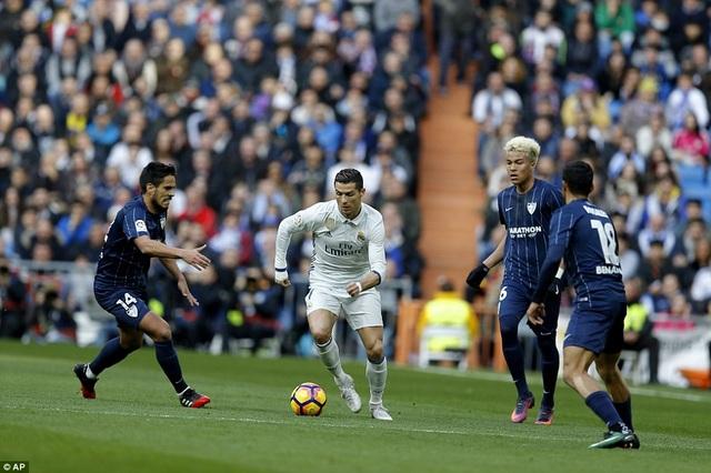 C.Ronaldo đang đạt phong độ rất cao thời điểm này