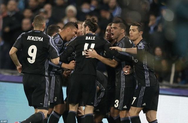 Real Madrid dễ dàng có mặt ở tứ kết Champions League năm nay