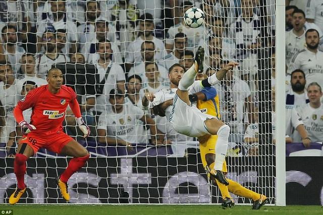 Ramos ấn định chiến thắng 3-0 chung cuộc cho Real Madrid