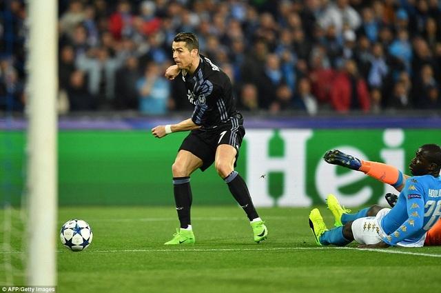 C.Ronaldo đã chơi đầy nỗ lực...