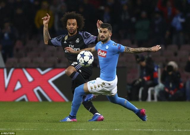 Napoli đã không thể tạo thêm tình huống đáng chú ý nào ở hiệp 2