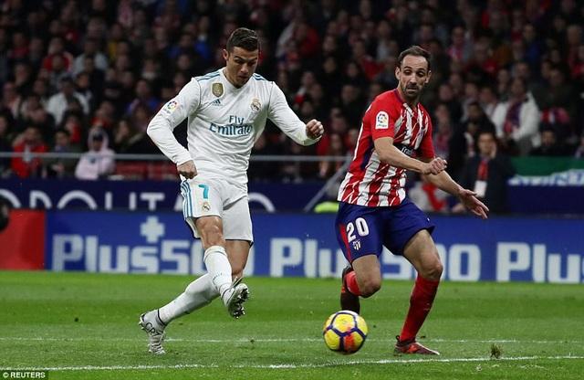 C.Ronaldo tiếp tục có một trận đấu nhạt nhòa