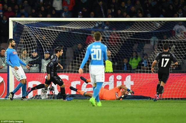 Morata ấn định thắng lợi 3-1 cho Real Madrid tại San Paolo