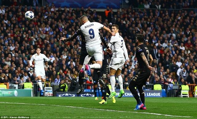 Real Madrid đang có được lợi thế khi thắng Napoli 3-1 ở lượt đi