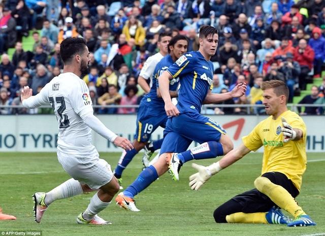 Real Madrid luôn chơi ổn định mỗi khi đối đầu Getafe