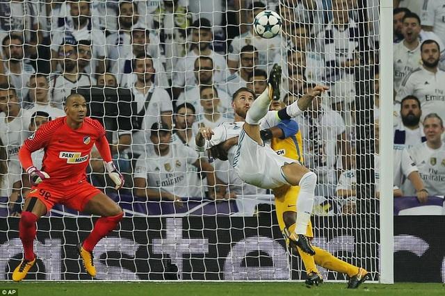 Real Madrid đã thắng Apoel 3-0 ở lượt đi năm nay