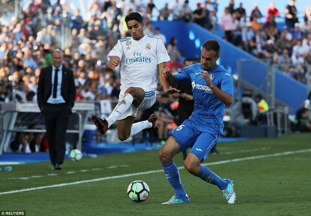 Real Madrid đã gặp quá nhiều khó khăn trước Getafe
