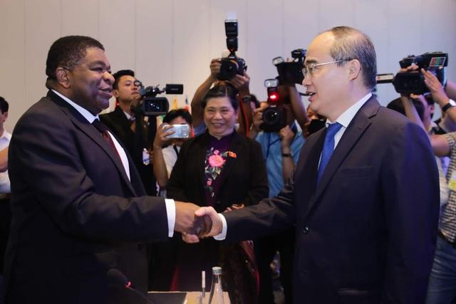 Theo Bí thư Thành ủy TPHCM Nguyễn Thiện Nhân, hội nghị là cơ hội để TPHCM mở rộng hợp tác với các nước cũng đang phải đối mặt với vấn đề biến đổi khí hậu