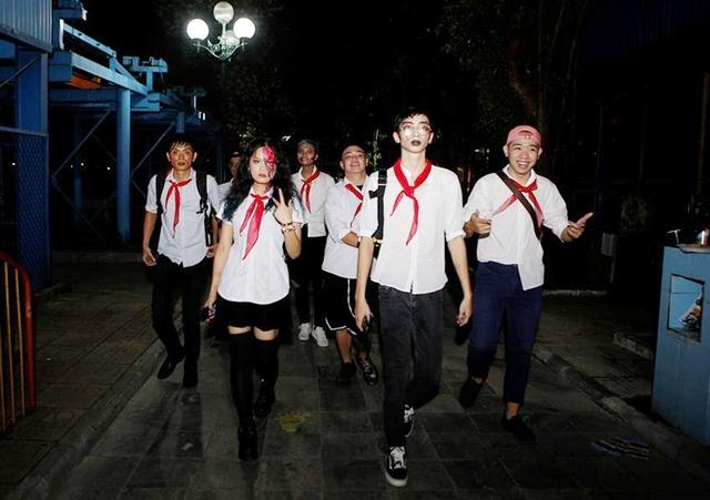 """Giới trẻ Hà Nội """"quẩy"""" hết mình trong đêm nhạc EDM và Halloween - 10"""