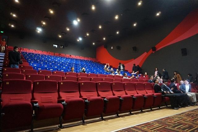 Quy mô phòng chiếu mới của Trung tâm Chiếu phim quốc gia.