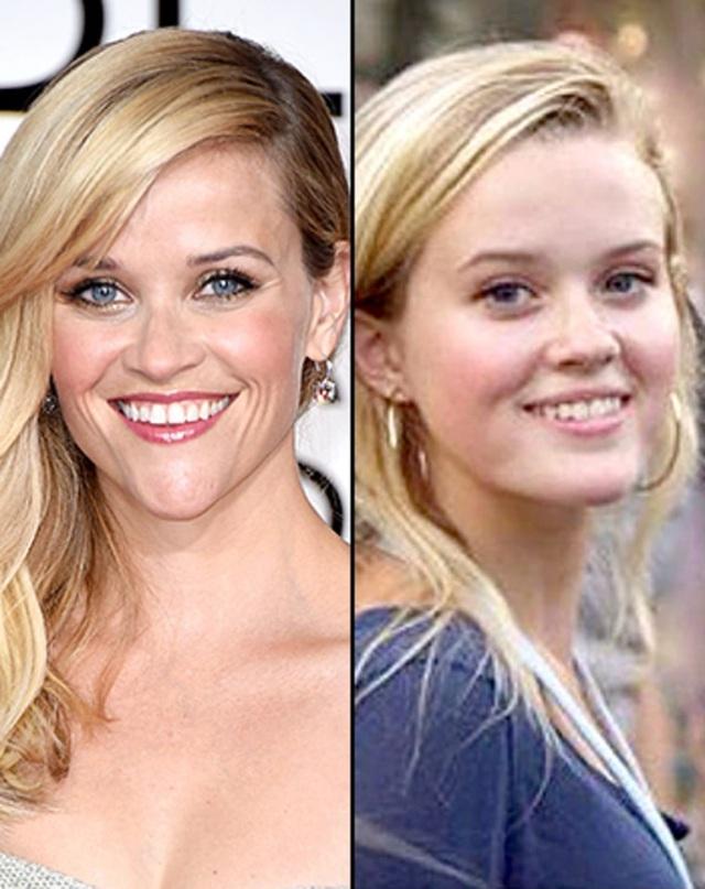 40 tuổi, Reese Witherspoon trẻ ngang cô con gái 17 tuổi - 12
