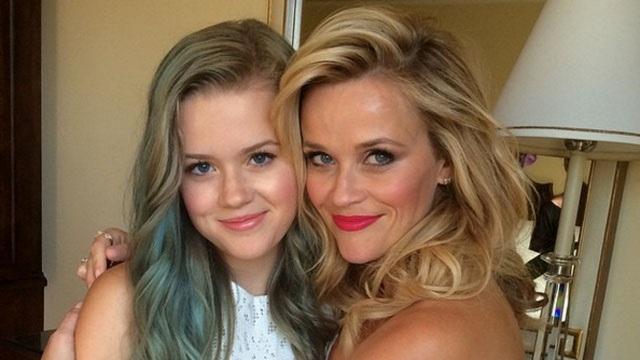 40 tuổi, Reese Witherspoon trẻ ngang cô con gái 17 tuổi - 14