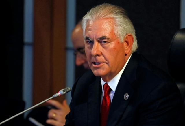 Ngoại trưởng Mỹ Rex Tillerson (Ảnh: AFP)