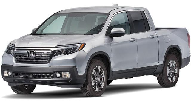 Bán tải cỡ nhỏ: Honda Ridgeline - Ưu điểm lớn nhất của mẫu xe này là thiết kế thông minh, nên có tính thực dụng cao. Consumer Reports cũng nhận xét rằng Honda Ridgeline vận hành tốt hơn nhiều mẫu xe bán tải từ cỡ nhỏ đến cỡ lớn khác.