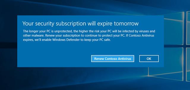 Phần mềm diệt virus của các bên thứ 3 luôn tỏ ra đáng tin cậy hơn so với Windows Defender của Microsoft.