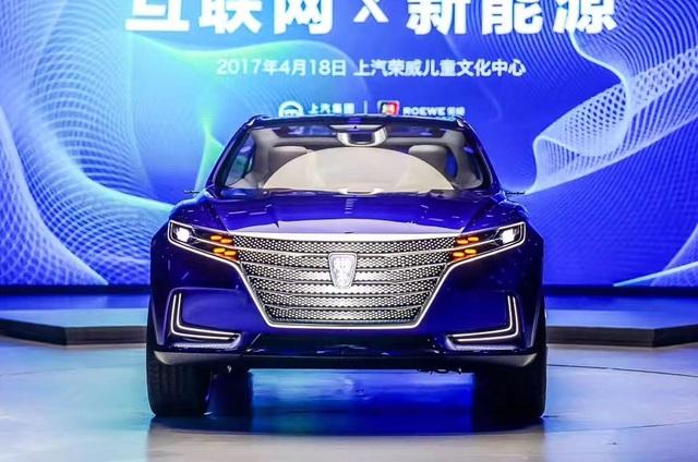Roewe Vision-E Concept - SUV hạng sang thương hiệu Trung Quốc - 4