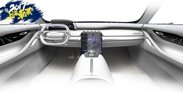 Roewe Vision-E Concept - SUV hạng sang thương hiệu Trung Quốc - 2