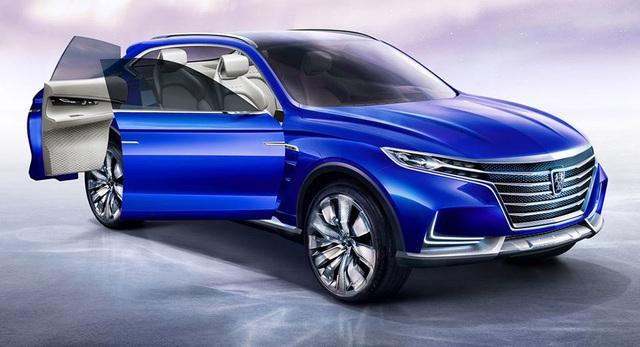 Roewe Vision-E Concept - SUV hạng sang thương hiệu Trung Quốc - 6