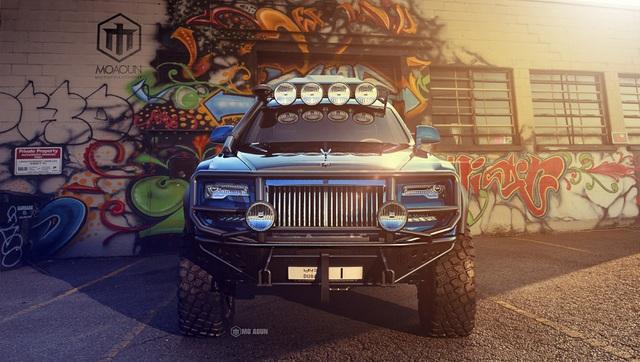 Khi Rolls-Royce Ghost biến thành xe off-road - 2