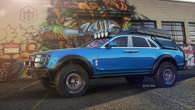 Khi Rolls-Royce Ghost biến thành xe off-road - 3