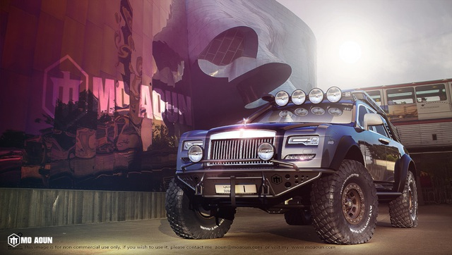 Khi Rolls-Royce Ghost biến thành xe off-road - 1